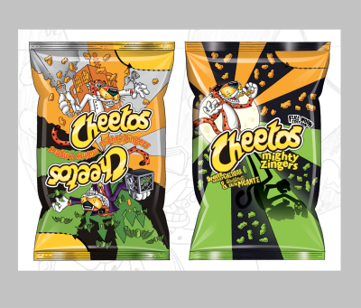 Chester Cheetos Halloween